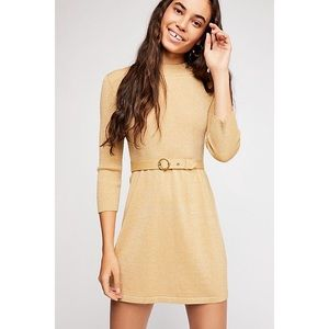 🎀 NWT • Free People • French Girl Mini Dress